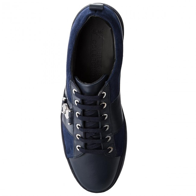 Sneakers VERSACE COLLECTION-V900712 Blu VM00387 V993N Blu COLLECTION-V900712 Scuro/Blu Scuro//Bl 85fc66