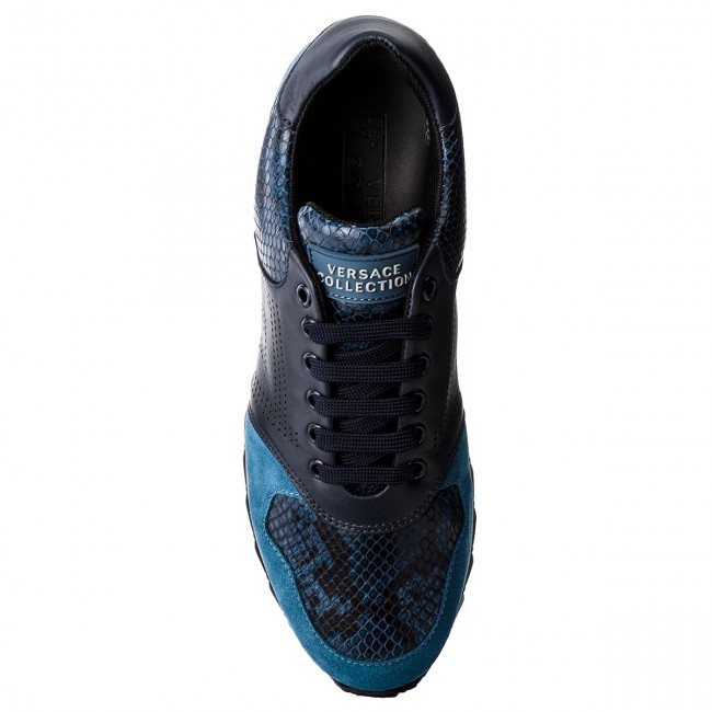 Sneakers VERSACE COLLECTION-V900718 VM00388 blu V647N Multicolor blu VM00388 scuro/b ea85e6