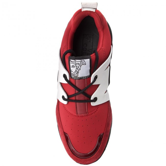 Sneakers VERSACE COLLECTION-V900724 COLLECTION-V900724 VERSACE VM00420 VA06 Bordeaux/Bordeaux/Ross 3d6163
