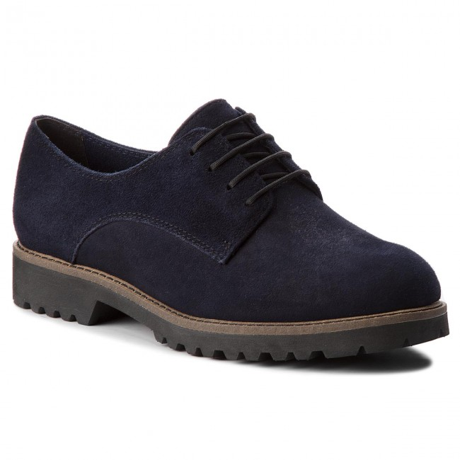 Oxfords TAMARIS                                                    1-23294-30 Navy Suede 806