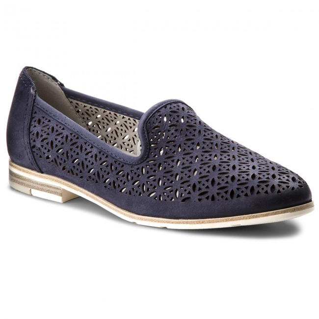Lords Schuhe MARCO TOZZI - 2-24500-20 Denim 802 to8BYi