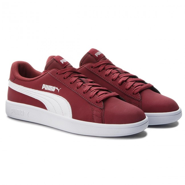Sneakers 06 PUMA-Smash V2 Buck 365160 06 Sneakers Pomegranate/Puma Weiß cb651f