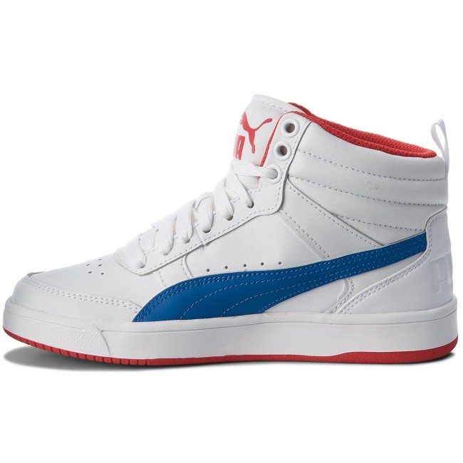Sneakers PUMA                                                    Rebound Street V2 L Jr 363913 07 White/Strng Blue/Rbbn Red