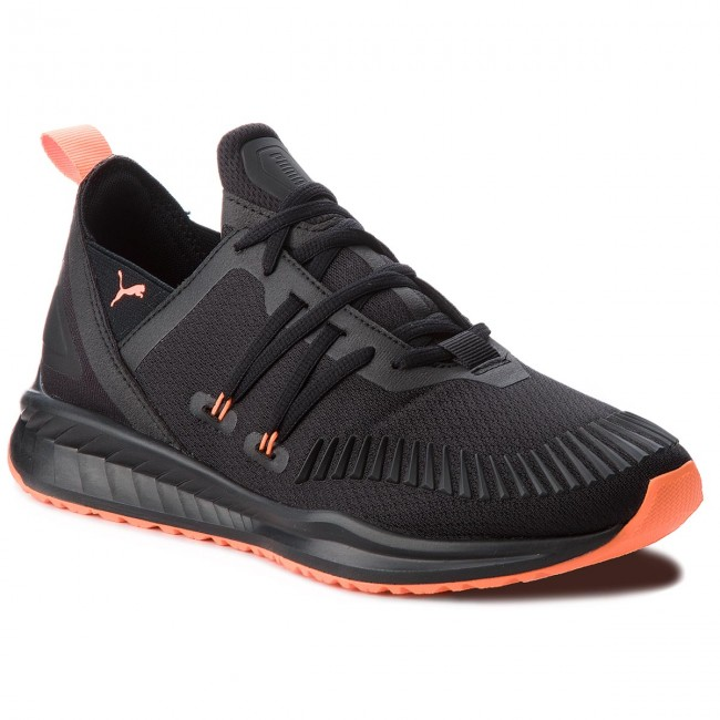 Schuhe PUMA-Ignite Puma Ronin Unrest 191219 01 Puma PUMA-Ignite schwarz/Shocking Orange 2efe4a