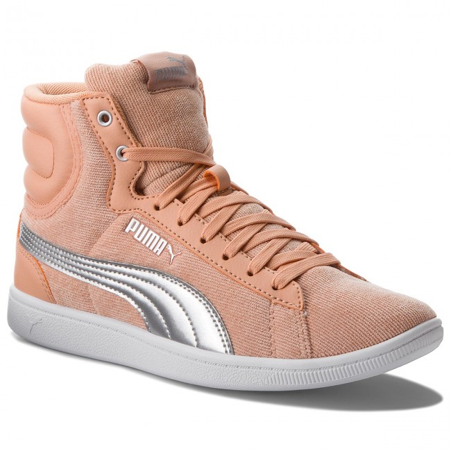 Sneakers PUMA  Vikky Mid Cord 366813 02 Dusty Coral/Puma Silver