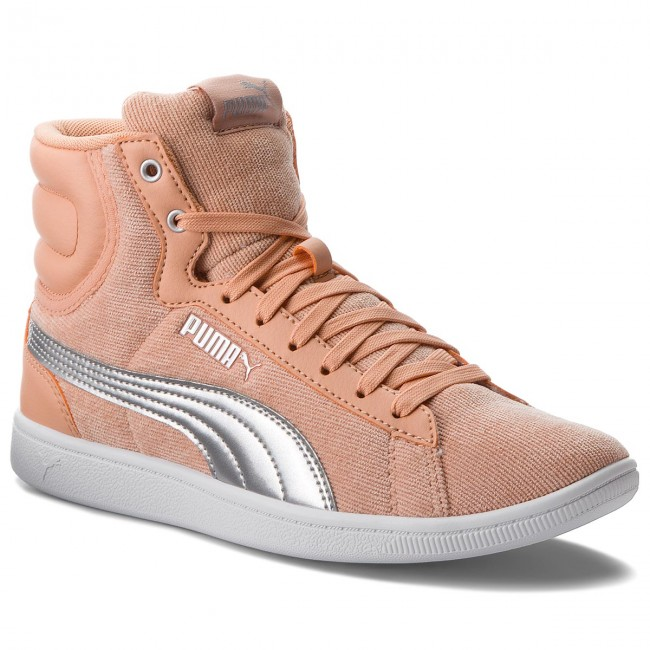Sneakers  PUMA     Sneakers                                                Vikky Mid Cord 366813 02 Dusty Coral/Puma Silver 809c24