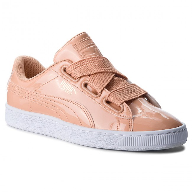 Sneakers PUMA                                                    Basket Heart Patent 363073 16 Dusty Coral/Dusty Coral