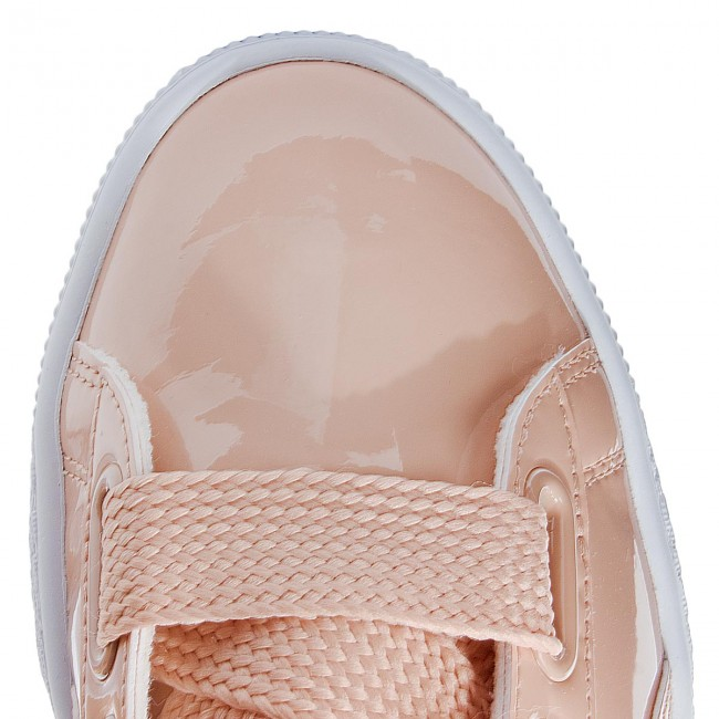 Sneakers PUMA                                                      Basket Heart Patent 363073 16 Dusty Coral/Dusty Coral ab7b44