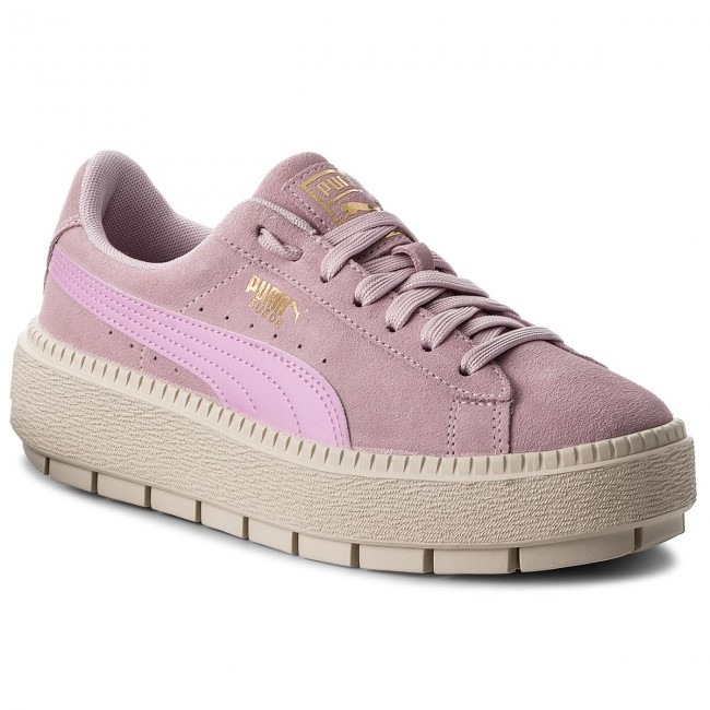 Sneakers PUMA Suede Platform Trace Jr 366826 02 Winsome Orchid/Orchid