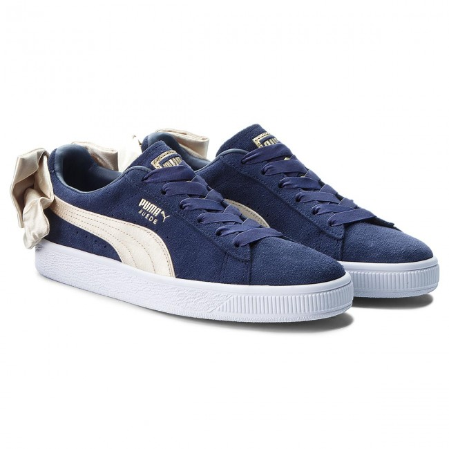 Sneakers PUMA                                                      Suede Bow Varsity Wn's 367732 02 Peacoat/Metallic Gold fc3847