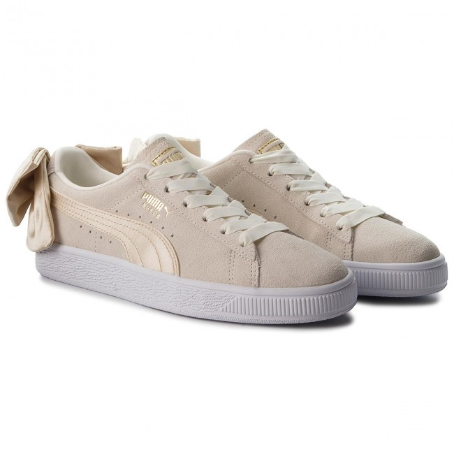 Sneakers PUMA                                                      Suede Bow Varsity Wn's 367732 03 Marshmallow/Metallic Gold ada3cd