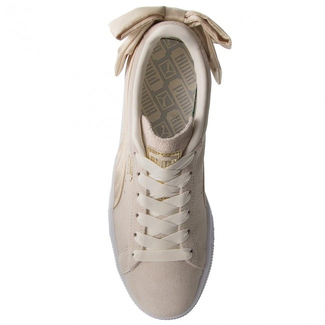 Sneakers PUMA                                                      Suede Bow Varsity Wn's 367732 03 Marshmallow/Metallic Gold ae68fc