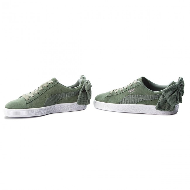 Sneakers PUMA                                                      Suede Bow Uprising Wn's 367455 02 Laurel Wreath/Puma Weiß 91b5cc