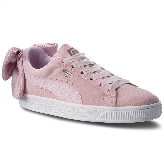 Sneakers PUMA                                                    Suede Bow Uprising Wn s 367455 03 Winsome Orchid/Puma White