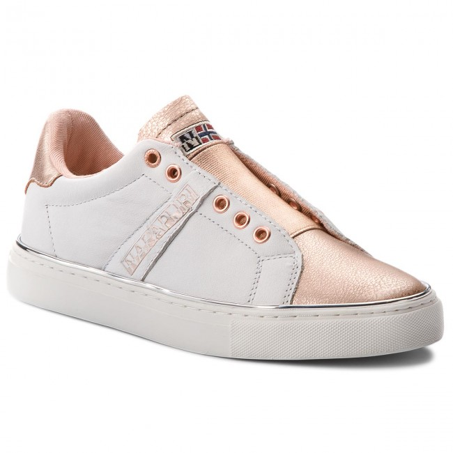 Sneakers NAPAPIJRI                                                    Alicia 16771592 Weiß/Rose Gold N06