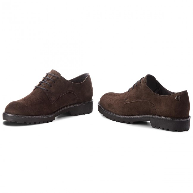 Oxfords TAMARIS                                                      1-23725-21 Dark Olive 713 b8ae46