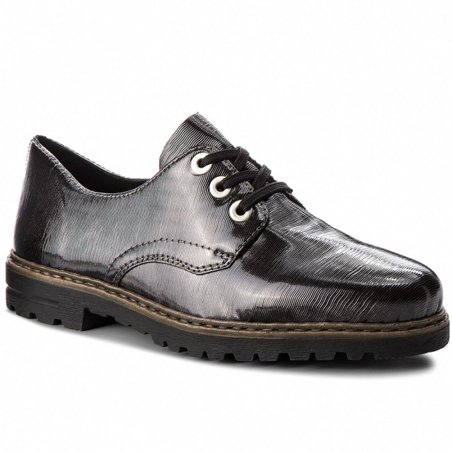Oxfords RIEKER                                                    M4809-45 Grau