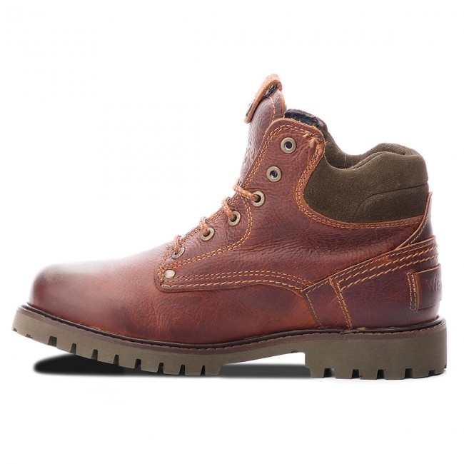 Trapperschuhe WRANGLER-Yuma WRANGLER-Yuma Trapperschuhe Light WM182007 Cognac 64 81be52