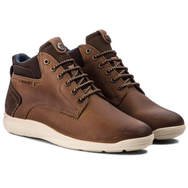 Schnürschuhe WRANGLER-Moose Mid Mid WRANGLER-Moose WM182150 Taupe 29 f988be