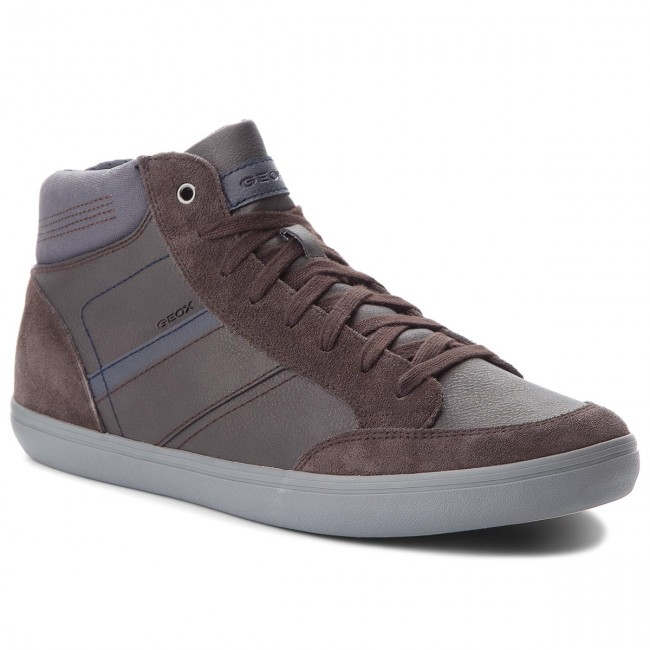 Sneakers GEOX-U Box E U84R3E 0ME22 C6MF4 Coffee/Navy