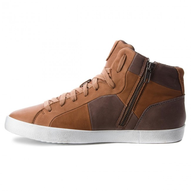 Sneakers GEOX-U 00043 Smart A U84X2A 00043 GEOX-U C6251 Cognac/Coffee 59fb63