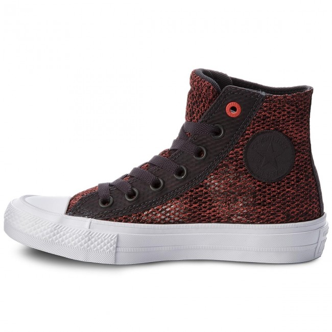 Sportschuhe CONVERSE                                                    Ctas II Hi 155729C Almost Black/Ultra Red/White