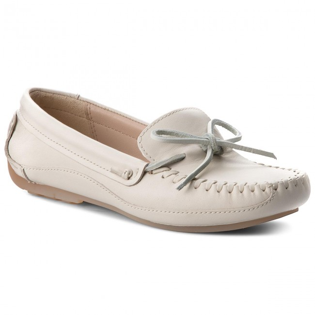Mokassins CLARKS                                                    Natala Rio 261230594 White Leather