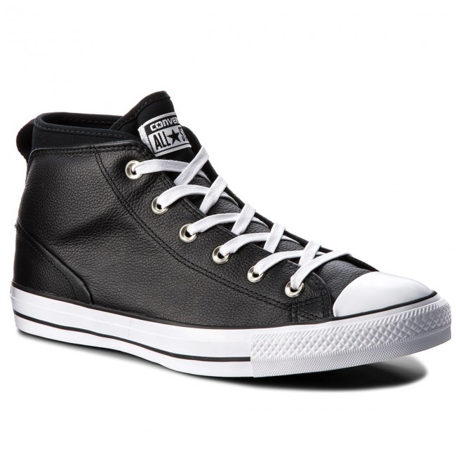 Sportschuhe CONVERSE-Ctas Syde Street Mid 157537C Black/Black/White