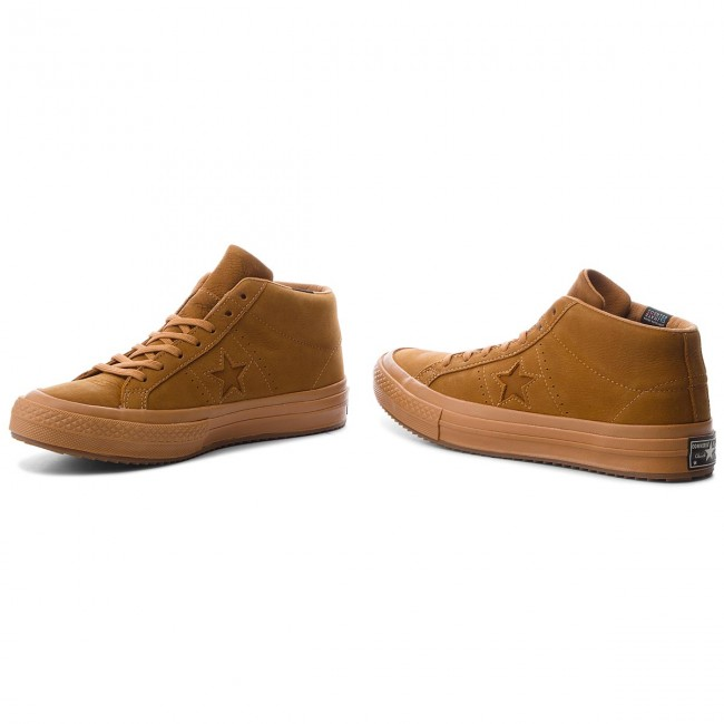 Sneakers CONVERSE-One Star Mid 158834C Raw Sugar/Raw Sugar/Raw Sugar