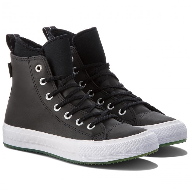 Sneakers Boot CONVERSE-Ctas Wp Boot Sneakers Hi 158839C schwarz/Light Aqua/Weiß e5e8a5