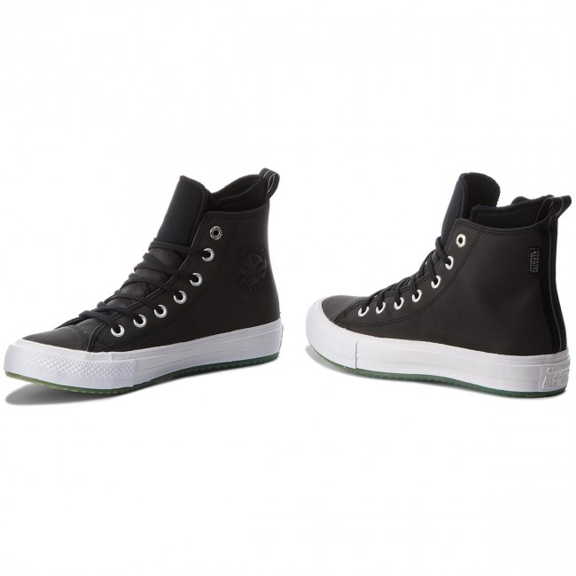 Sneakers Boot CONVERSE-Ctas Wp Boot Sneakers Hi 158839C schwarz/Light Aqua/Weiß 9e3272