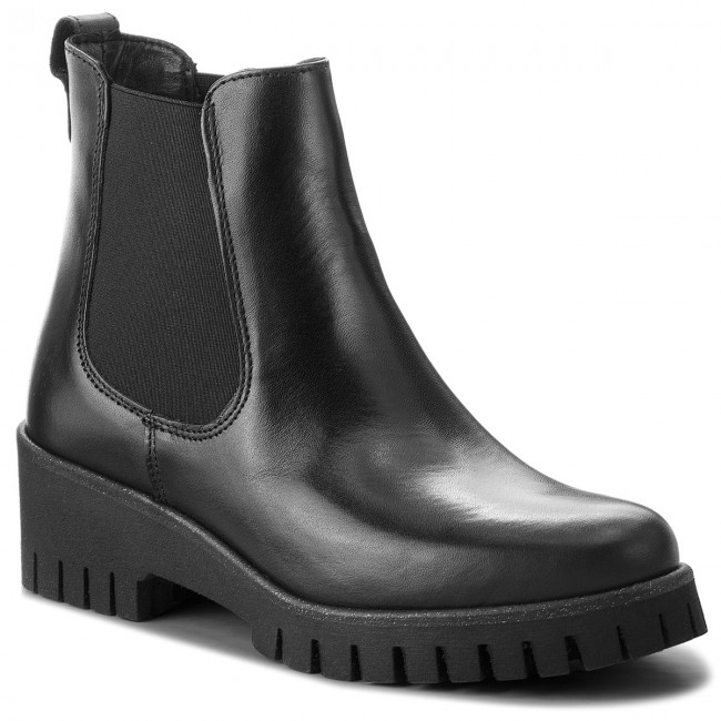 Black Stiefeletten TAMARIS-1-25461-21 Black  Leather 003 Werbe Schuhe 10a5c2