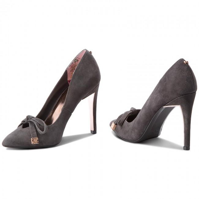 High Heels TED BAKER                                                      Gewell 9-17599 Sued Af Charcoal 4e60d3