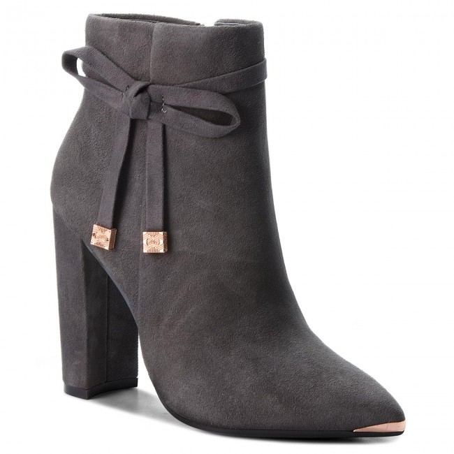 Stiefeletten TED  BAKER     TED                                                Qatena 9-17595 Charcoal a8d752