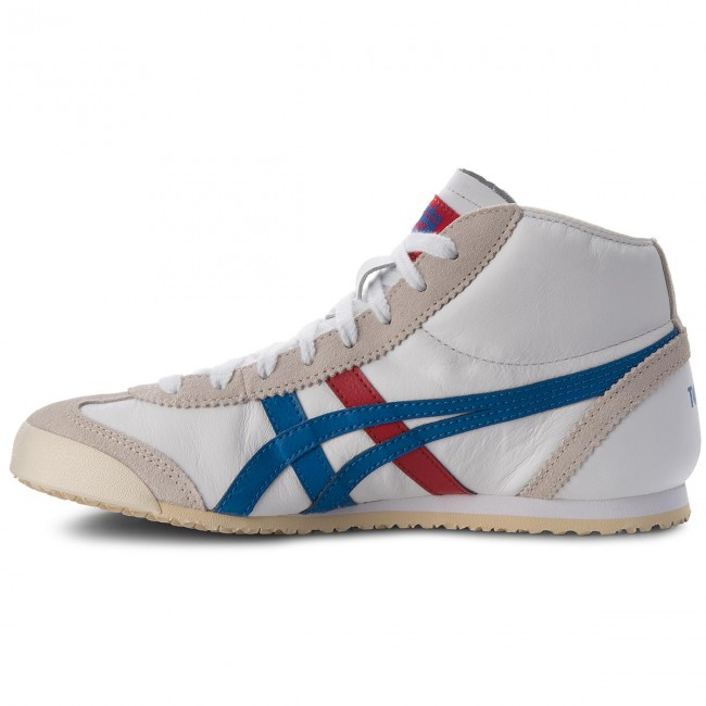 Sneakers ASICS-ONITSUKA DL409 TIGER Mexico Mid Runner DL409 ASICS-ONITSUKA Weiß/Daphne 0143 44b152