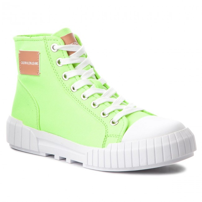 Sportschuhe CALVIN KLEIN JEANS                                                    Briony R0785 Chemical Yellow