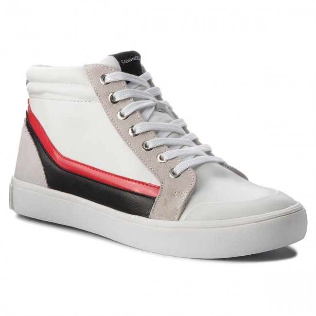 Sneakers CALVIN KLEIN JEANS Doris R0798 White/Black/White/To