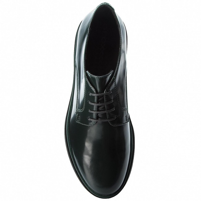 Oxfords Forest GEOX D Myluse A D849WA 00038 C3019 Dk Forest Oxfords e105ea