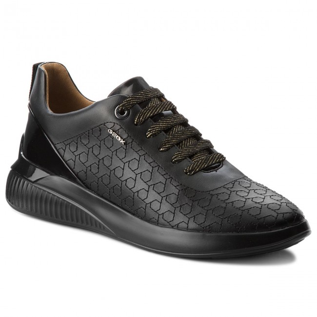 Sneakers GEOX-D Theragon C D828SC 0BCHI C9999 Black Werbe Schuhe