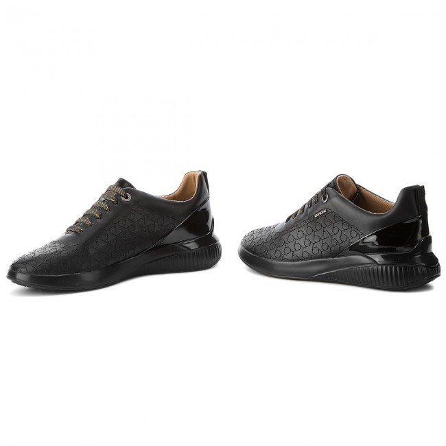 Sneakers GEOX                                                      D Theragon C D828SC 0BCHI C9999 schwarz 17045a
