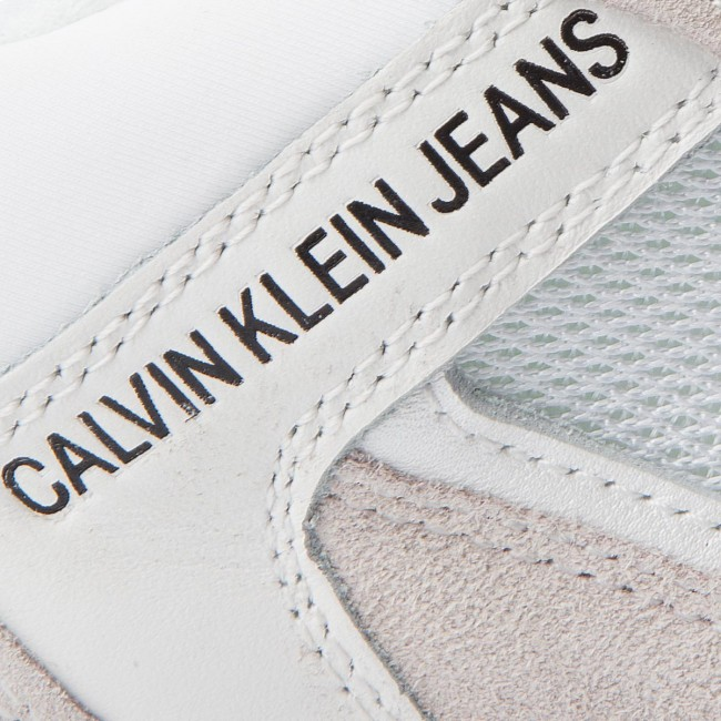 Sneakers CALVIN KLEIN JEANS-Marvin S1770 S1770 JEANS-Marvin Weiß 19b215