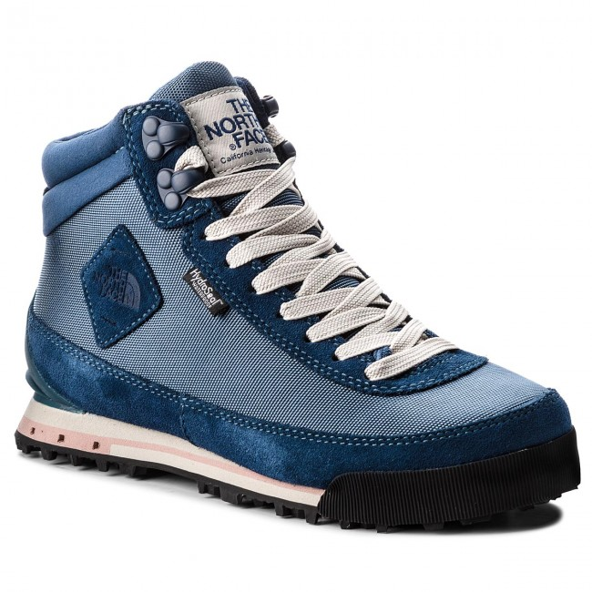 Trekkingschuhe THE NORTH FACE                                                      Back-To-Berkeley Boot II T0A1MF5SL Blau Wing Teal/Peyote Beige 69f4c8