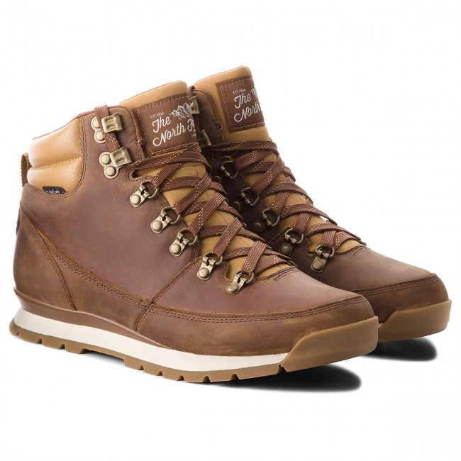 Trapperschuhe THE NORTH FACE-Back-To-Berkeley ROTux Braun Leder T0CDL05WD Dijon Braun/Tagum Braun ROTux 2d8fa4