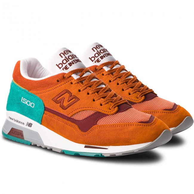 Halbschuhe Turnschuhe NEW NEW NEW BALANCE - Classics Traditionnels M1500SU Bunt Orange dd3f64