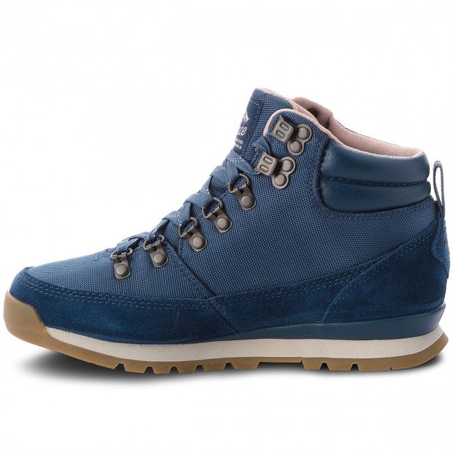 Trekkingschuhe THE NORTH FACE                                                      Back-To-Berkeley ROTux T0CLU75SN Blau Wing Teal/Misty Rose 1feb1f