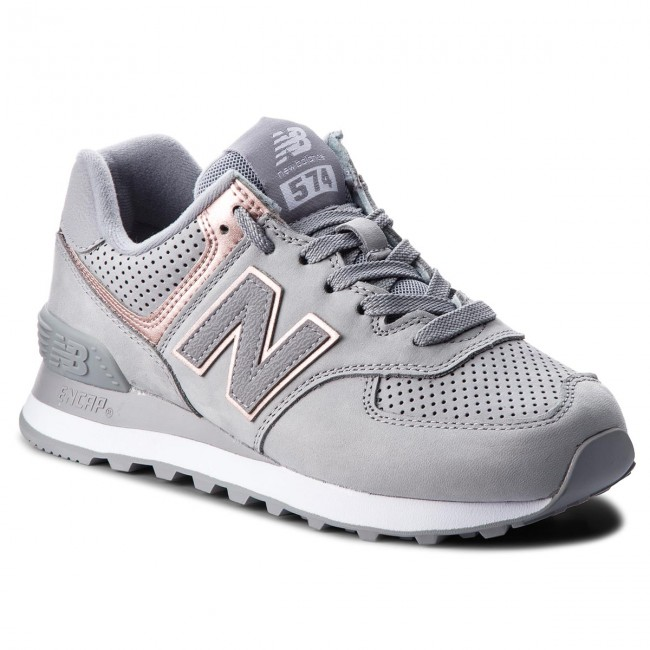 Sneakers NEW BALANCE                                                      WL574NBN Grau 67a881