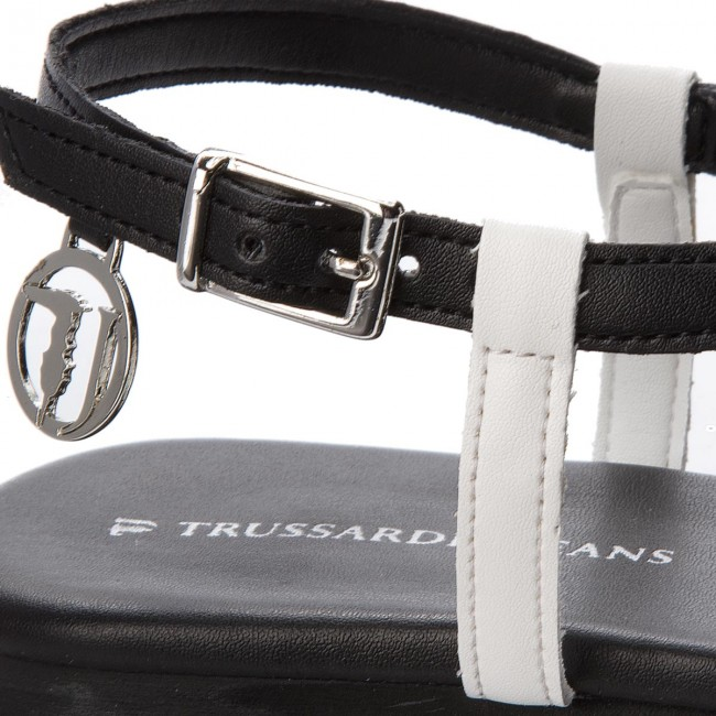 Zehentrenner TRUSSARDI JEANS       JEANS                                               79A00194 W601 fa6dad