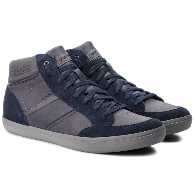 Sneakers E GEOX-U Box E Sneakers U84R3E 0ME22 CF49A Navy/Anthracite 988fab