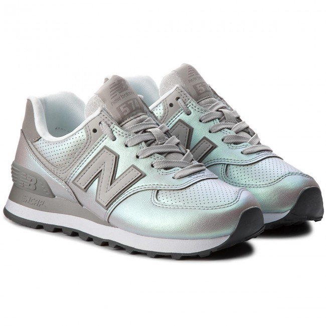 Sneakers NEW BALANCE                                                      WL574KSC Silber 0346c9