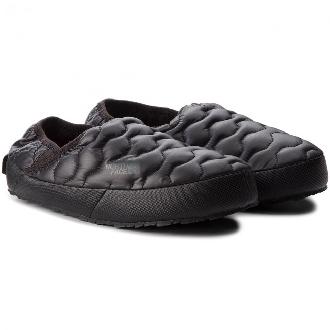 Hausschuhe THE NORTH FACE                                                      Thermoball Traction Mule IV T993IFYWY Shiny Tnf schwarz/Beluga Grau af0cc2